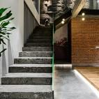 218平米办公空间——楼梯图片