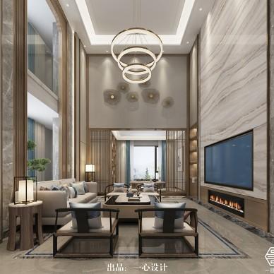 中式别墅设计丨广州莱茵花园别墅_3880763