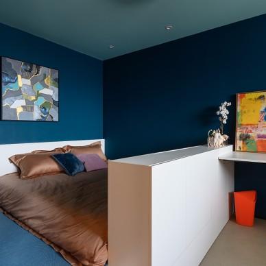 上海松柏公寓改造——臥室圖片