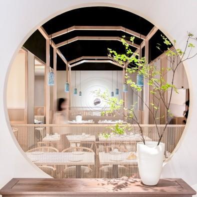 圆融微喜的餐饮空间