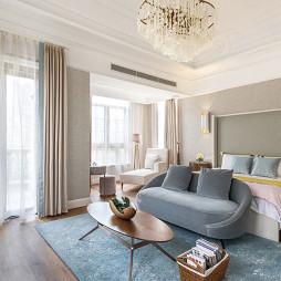1000平时尚轻奢——卧室图片