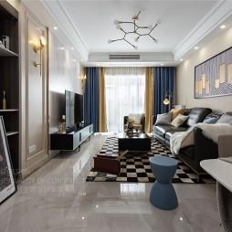壹品唯創設計  现代轻奢风打造精致生活——客厅图片