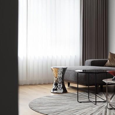 深白设计 黑白缄默,优雅的气质空间