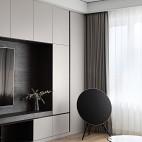 深白设计|黑白缄默,优雅的气质空间_3899298