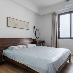 110平中式古典——卧室图片