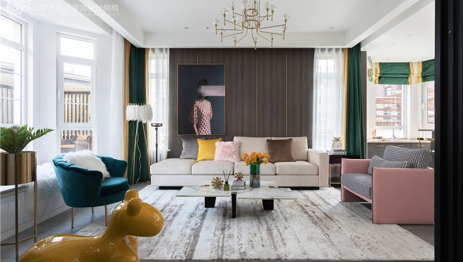 现代轻奢风格,张家口·观澜墅