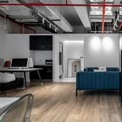 83平办公空间——办公区图片
