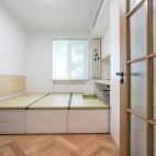 65平一居中式现代——次卧图片