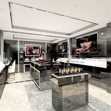 50m²彩妆店|小空间大视觉_3916760