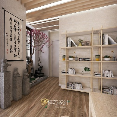 梓苏设计-茶室茶叶店_3920434