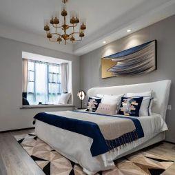 中交·中央公园现代风格样板间——卧室图片