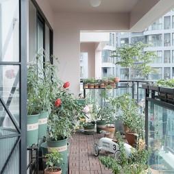 葡萄家—147平住宅空间——阳台图片