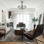 【观致国际设计】四白落地 你我闲坐——客厅图片