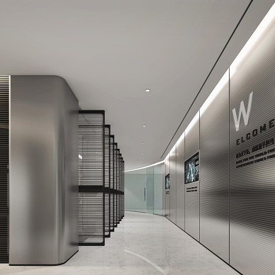 广州富联公司办公室装修_3927427