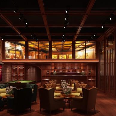 红酒先生商业空间装修项目_3927887