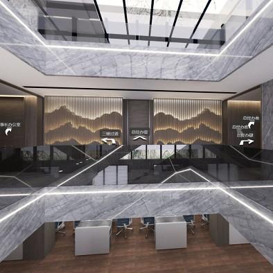 尊璞国际设计——银恒办公楼三楼