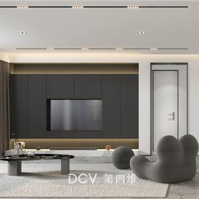 西安-中海曲江大城样板间室内装修设计_3933719