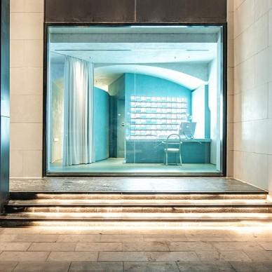 凝结的时光展 - 水相事务所SPA馆——门口图片