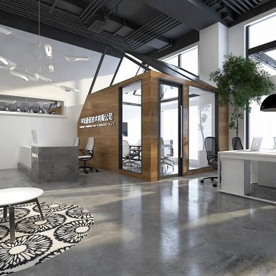 中复通信企业办公室设计_3939135