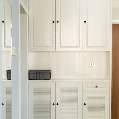 110平米旧房改造, 用简约北欧风变新家_3944185