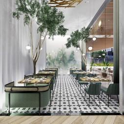 深圳福田-喜鹊院餐厅_3946158