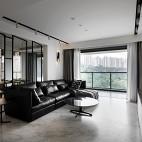 银色山泉-现代简约——客厅图片