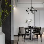 银色山泉-现代简约——餐厅图片