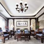 中式古典別墅豪宅——客廳圖片