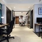 黑白灰的現代簡約——辦公區圖片