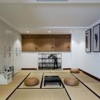 色彩改变生活,玳瑁蜂蜜点缀经典黑白灰——茶室图片