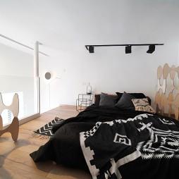 黑白镜像人生——卧室图片