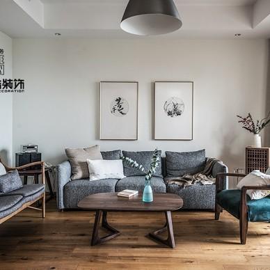 300㎡北欧风 寻回生活的纯粹与惬意——客厅图片