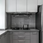 紧凑型三居的生活艺术之旅——厨房图片