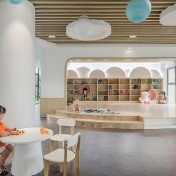 洞头区灵昆幼儿园——休闲阅读区图片