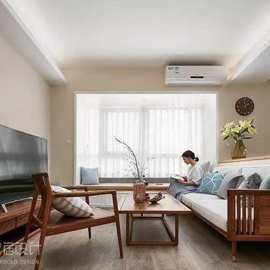 中式现代三居住宅——客厅图片