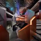 深圳餐厅设计【餐饮空间设计】虾胡闹餐厅——楼梯图片