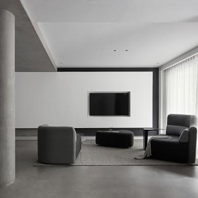 叠 / 面-现代简约——客厅图片