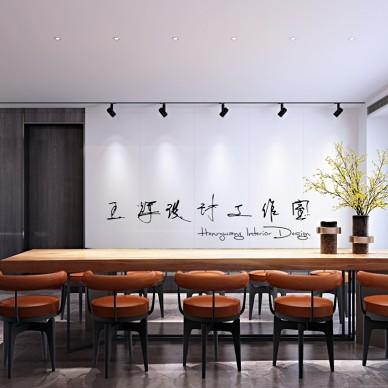 工业风公寓设计_3968114