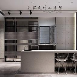 工业风公寓设计_3968116