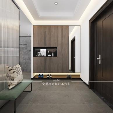 去繁求简,木质+石材打造低调简约台式住宅_3970506
