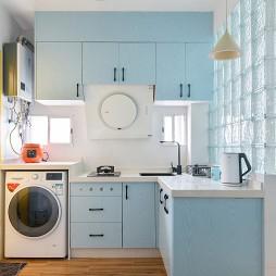 33㎡小屋竟然藏了个瑜伽房——厨房图片