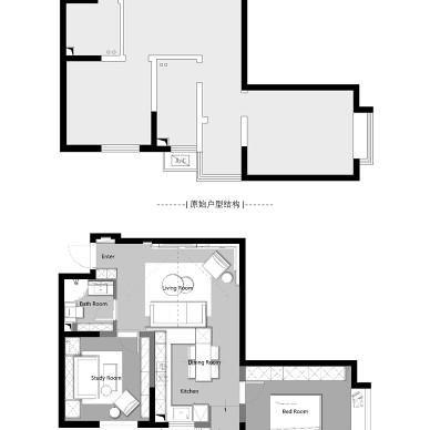 紧凑型两居的黑白艺术交响曲_3972772
