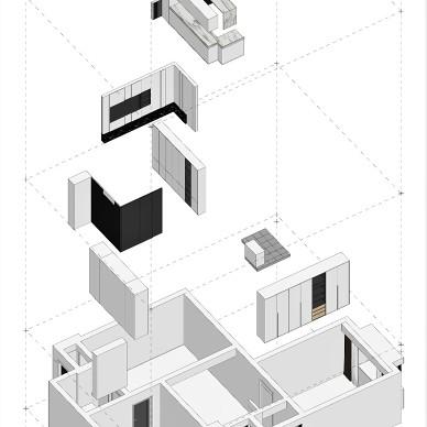 紧凑型两居的黑白艺术交响曲_3972774