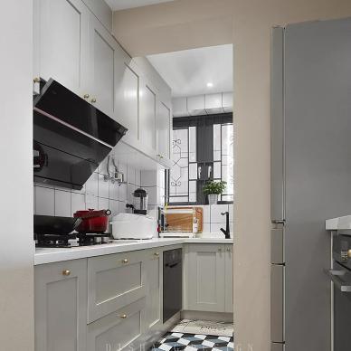 《旅行》功能+收纳+颜值被爱包裹的家——厨房图片