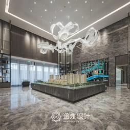 涵永设计|融创·内蒙古玉兰天宸售楼处——沙盘区图片