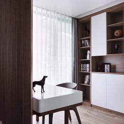 木色-现代简约——书房图片