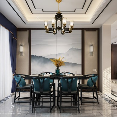新中式住宅空间设计_3982893