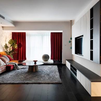 暴爆红-现代简约——客厅图片