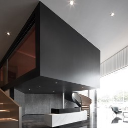 恒福陶瓷总部展厅——楼梯图片
