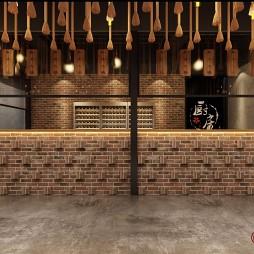 黄牛肉火锅店设计_4005468